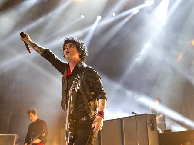 Green Day rocks Riverbend Music Center