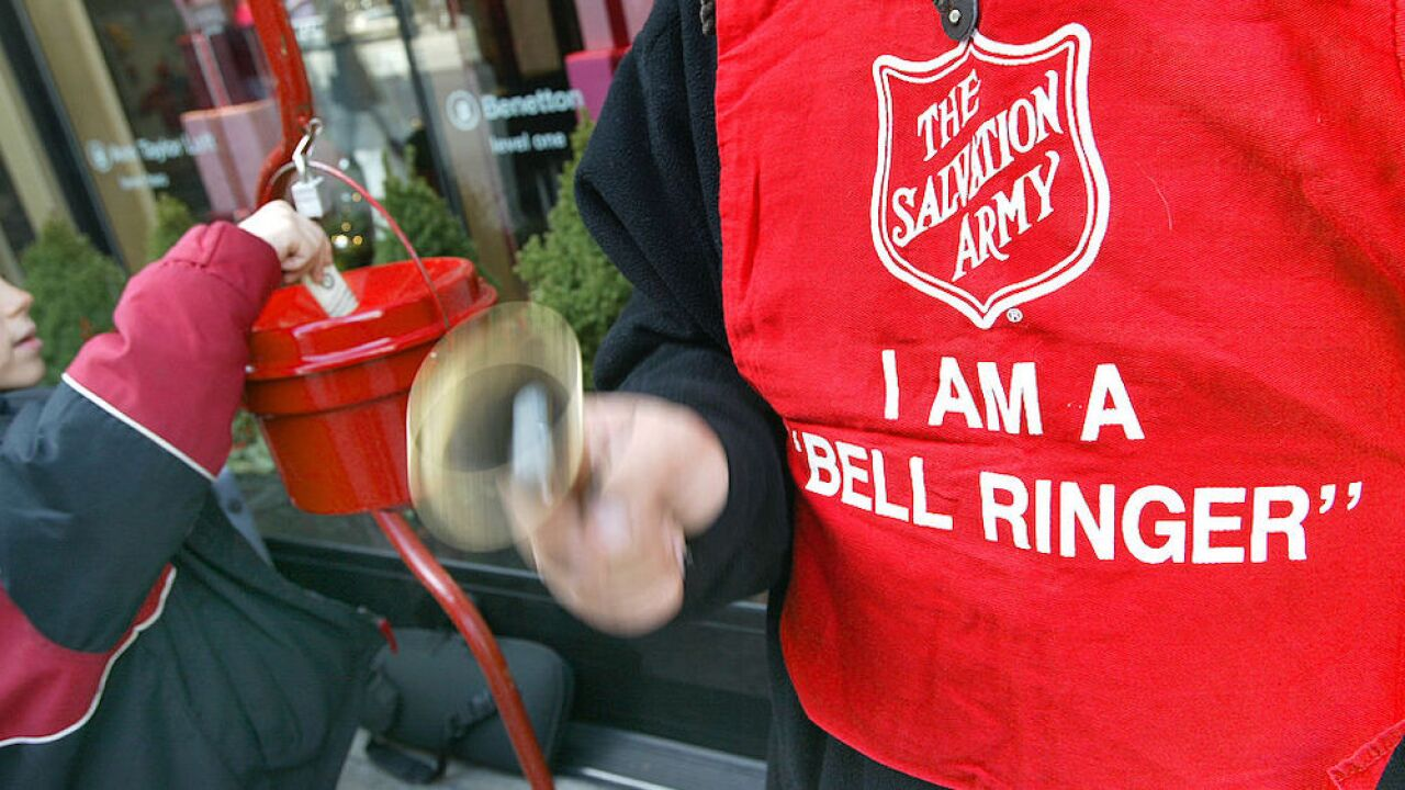 The Salvation Army projects a $12 million drop in holiday donations