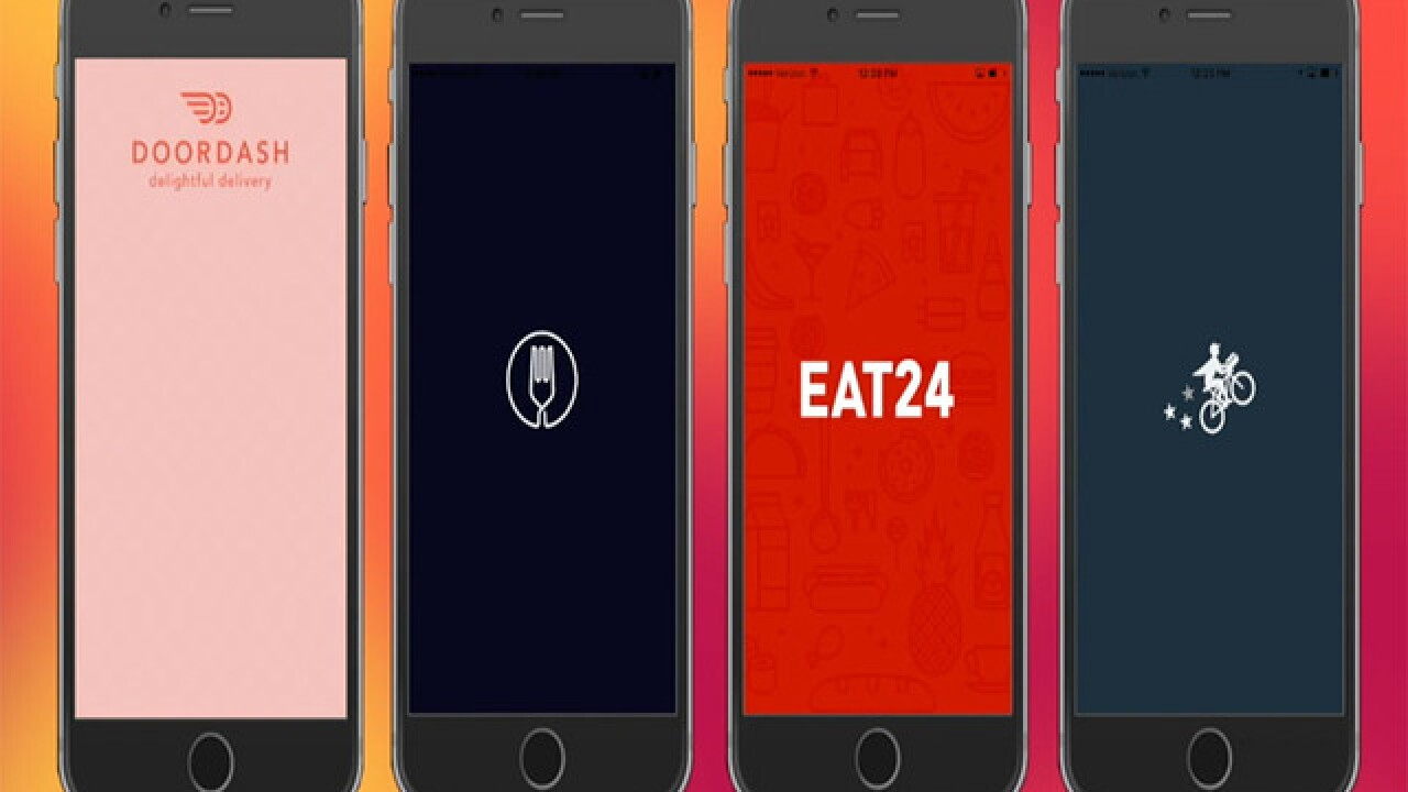 Say goodbye to takeout and hello to food delivery apps