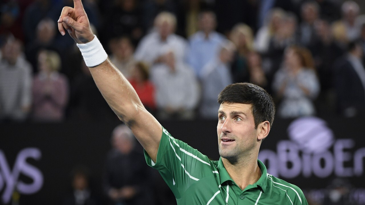 New No. 1 in tennis after Djokovic wins 17th Grand Slam title