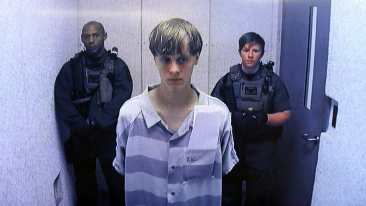 Avowed white supremacist Dylann Roof sentenced to death for church shooting