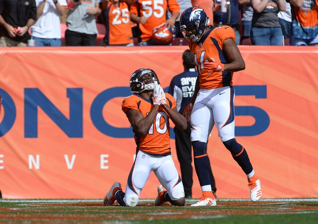 IN PHOTOS: Denver opens the season against Seattle at Broncos Stadium at Mile High