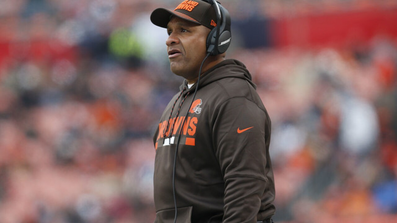 "Lights, cameras, Browns: Team set for ""Hard Knocks"" series"