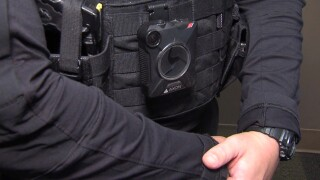 Picture of a police body camera.