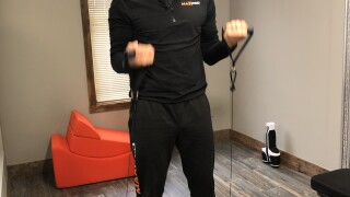 Rochester-based inventor creates portable all-in-one smart gym