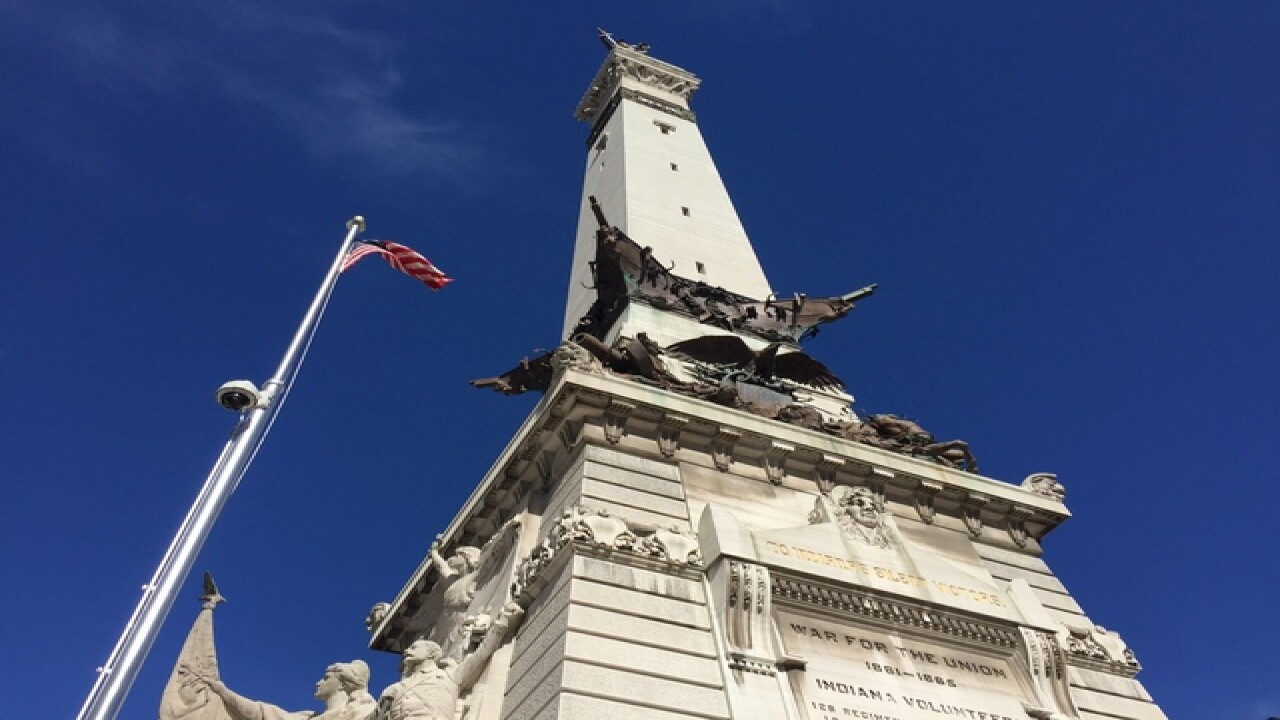 PHOTOS: A view from Soldiers & Sailors Monument