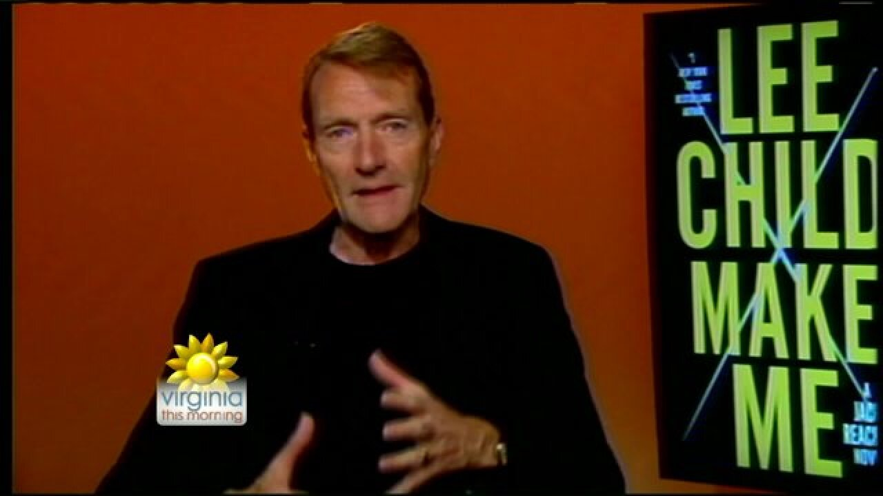 Bestselling author Lee Child introduced his latest Jack Reacher novel, 'Make Me'