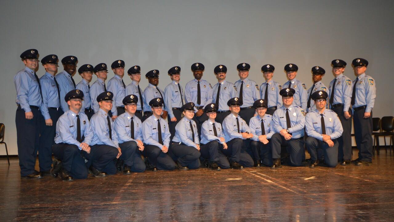 Baltimore County Fire 112th graduating class