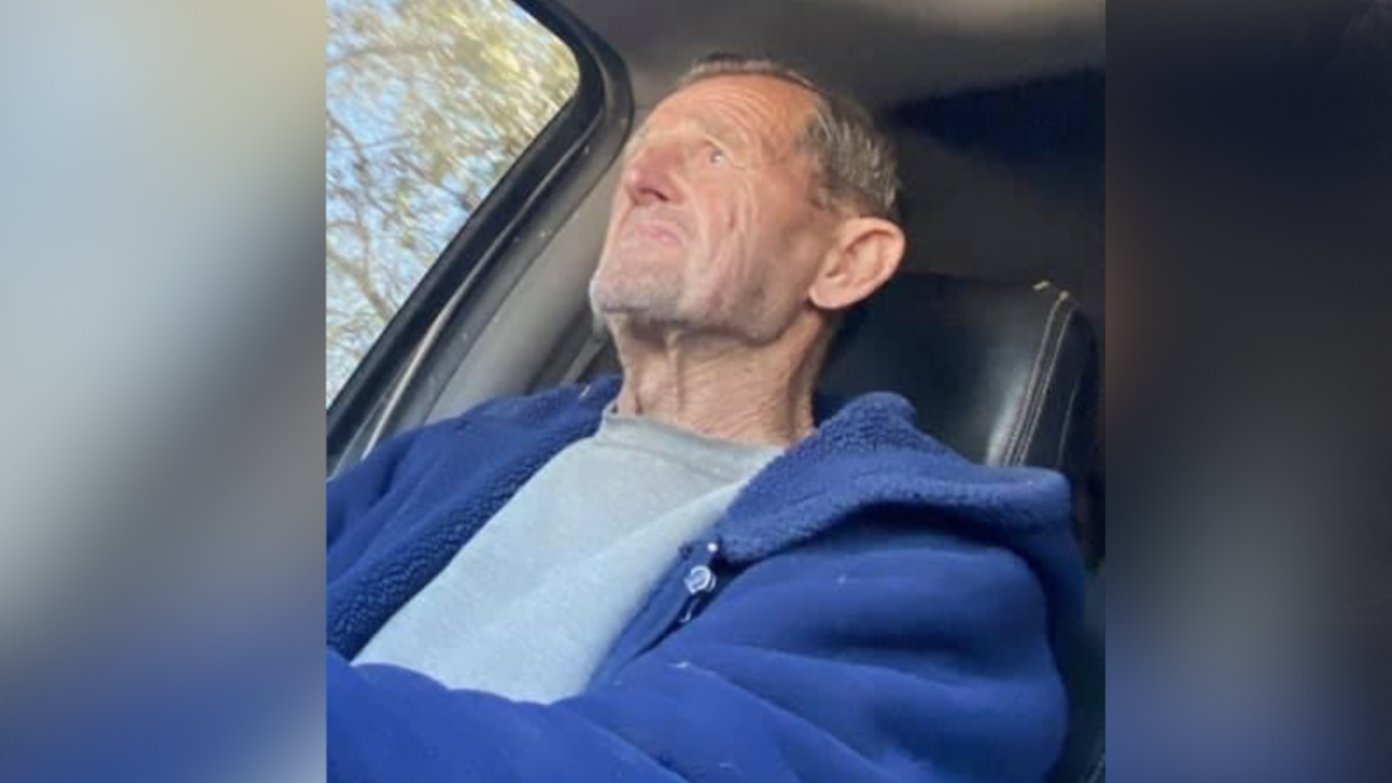 William Robert Grabowske was last seen in the Peaceful Valley area.