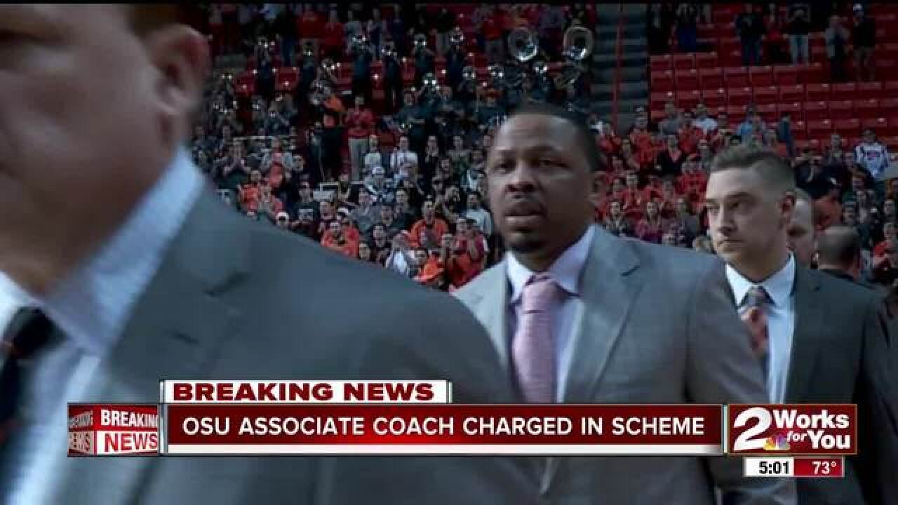 OSU's Lamont Evans charged in fraud case