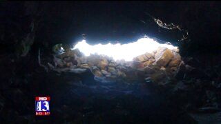 Uniquely Utah: Exploring the lava tubes at TabernacleHill