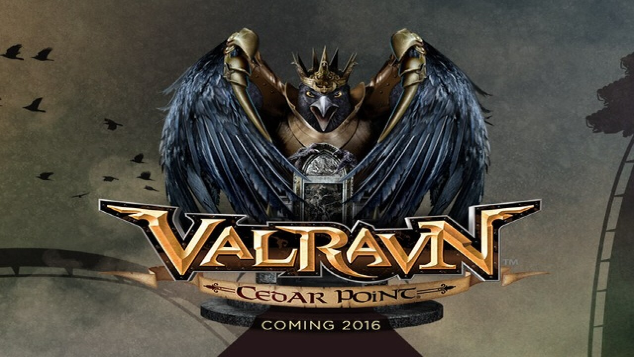 Cedar Point introduces new coaster Valravn