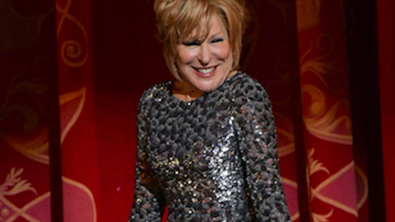 Bette Midler 'fine' after falling during 'Hello Dolly'