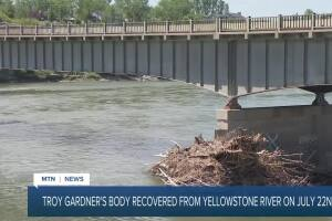 Body recovered from Yellowstone River ID'd