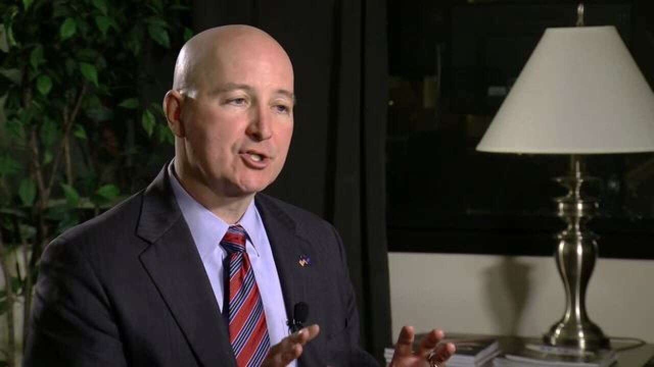 Ricketts designates disaster areas after floods