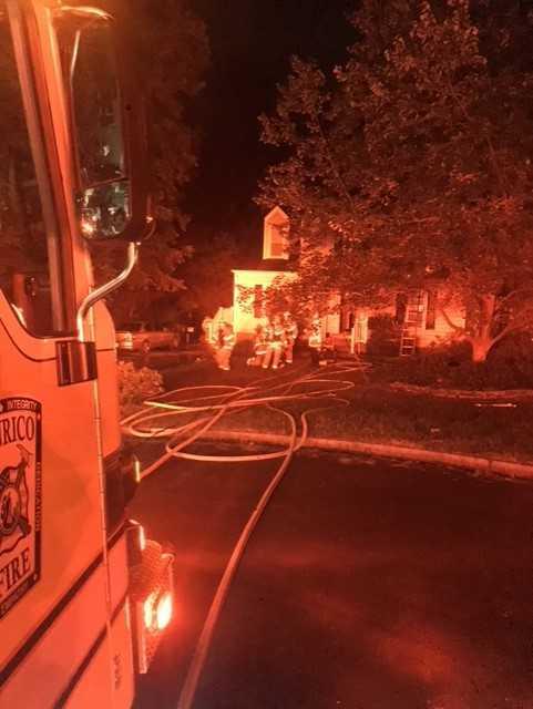 Photos: 'Hero' twins call 911, alert sleeping parents to Henrico housefire