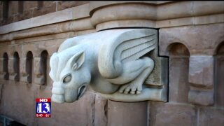 Uniquely Utah: A pair of 2,500-pound grotesques arrive in Salt LakeCity