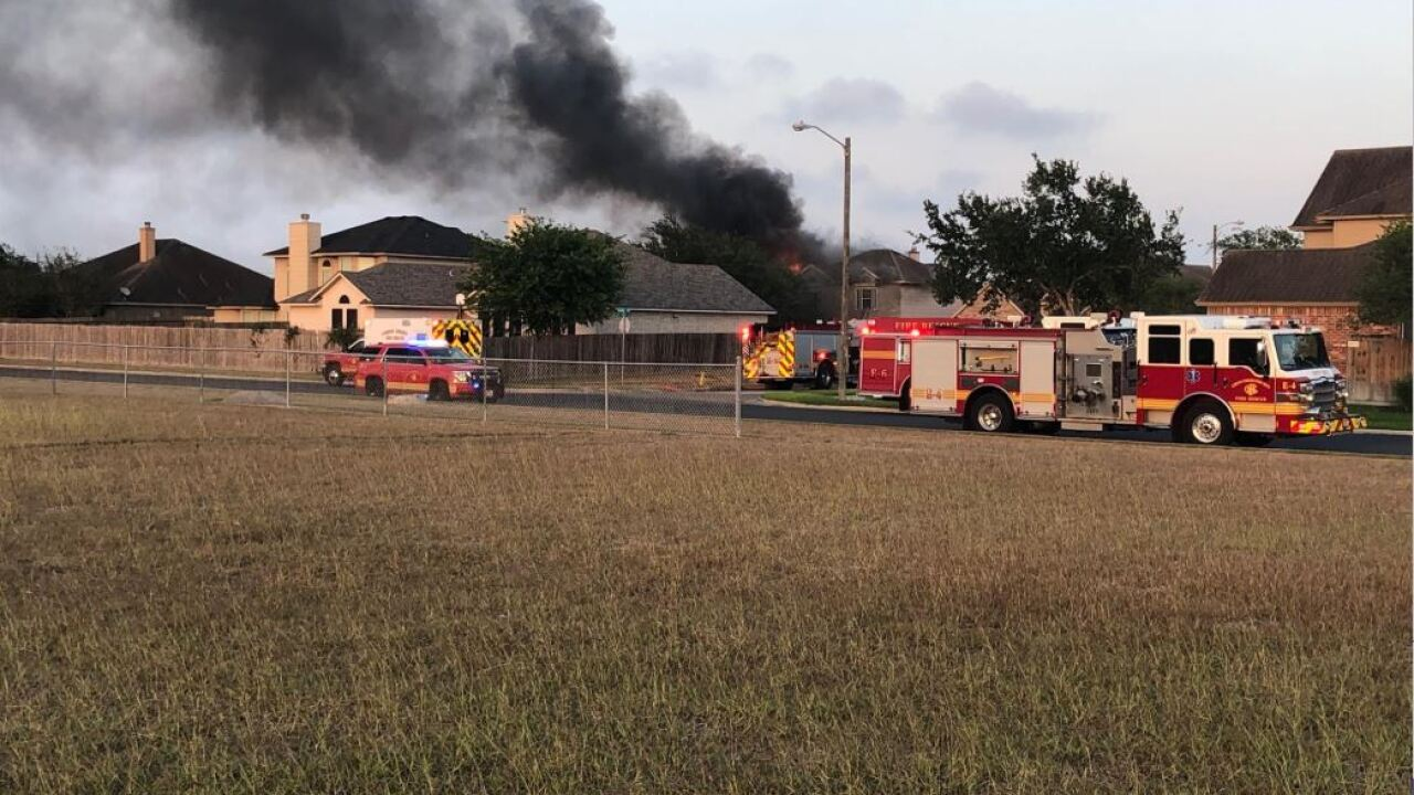 Large house fire breaks out on south side