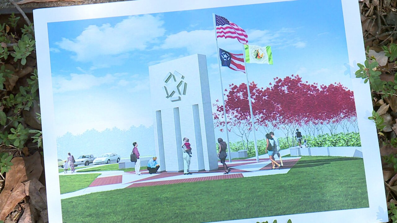 Henrico County's 9/11 monument to honor victims 'back ontrack'