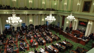 California State Capitol in Sacramento, California