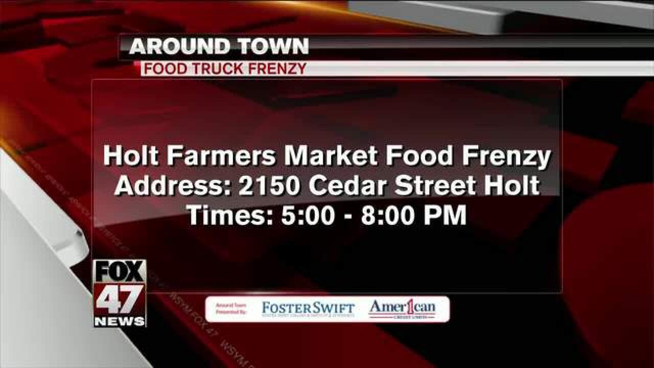 Around Town 6/20/17: Farmers Market Food Frenzy
