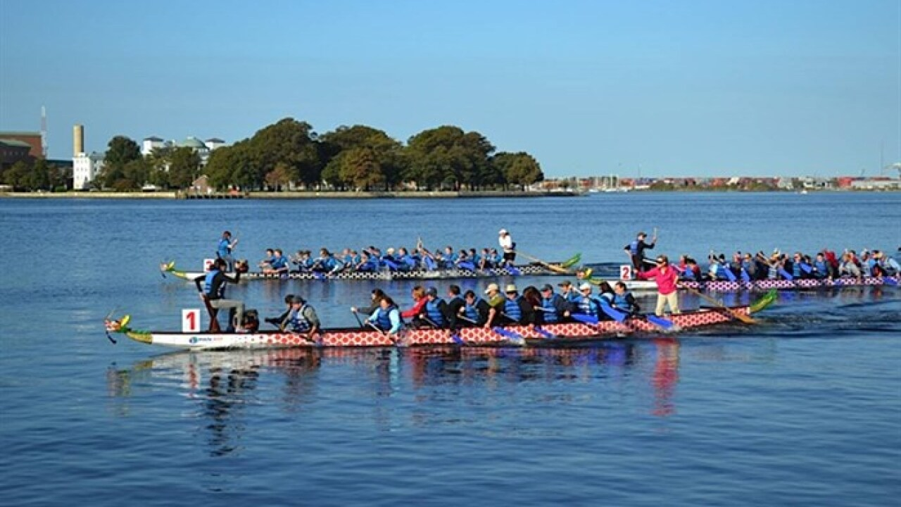 3rd Annual Dragon Boat Race benefits CHKD