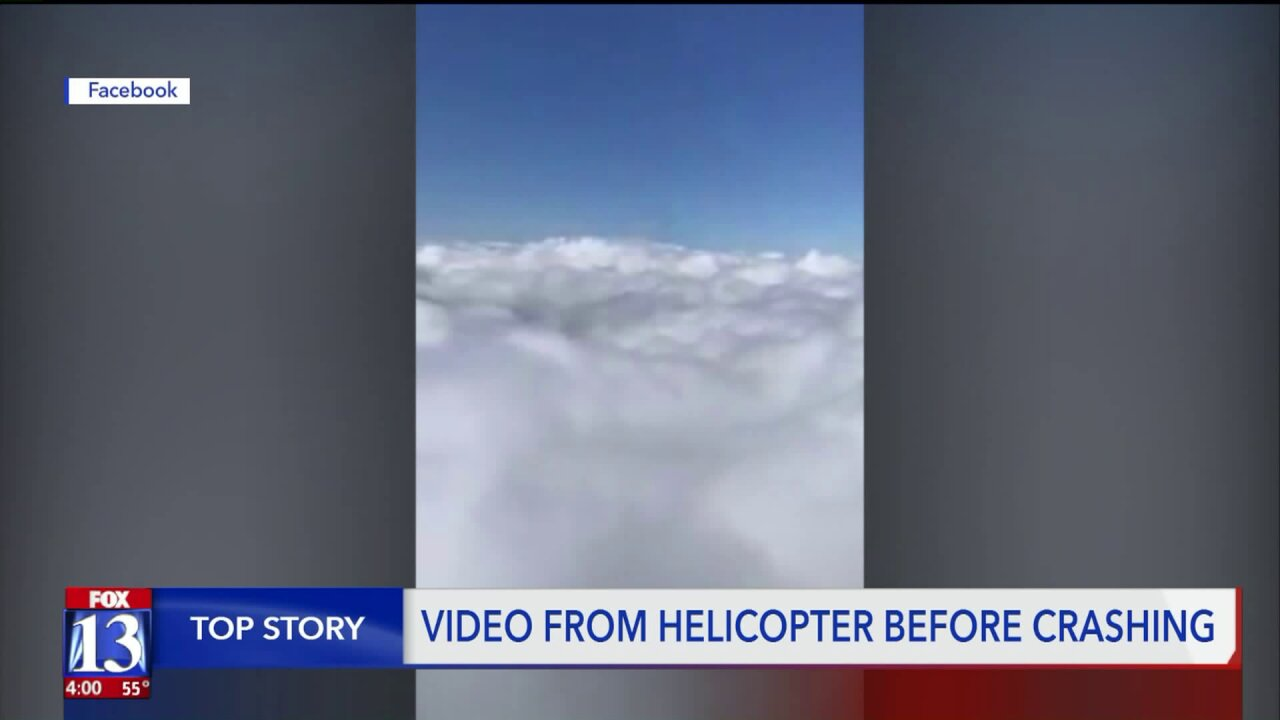 Couple killed in helicopter crash posted video shortlybefore