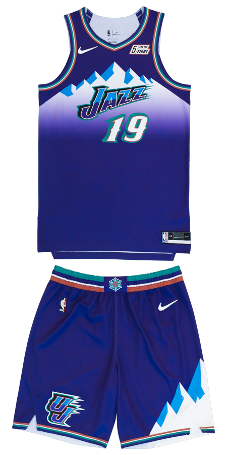 Photos: New Utah Jazz uniforms throw back to glorydays