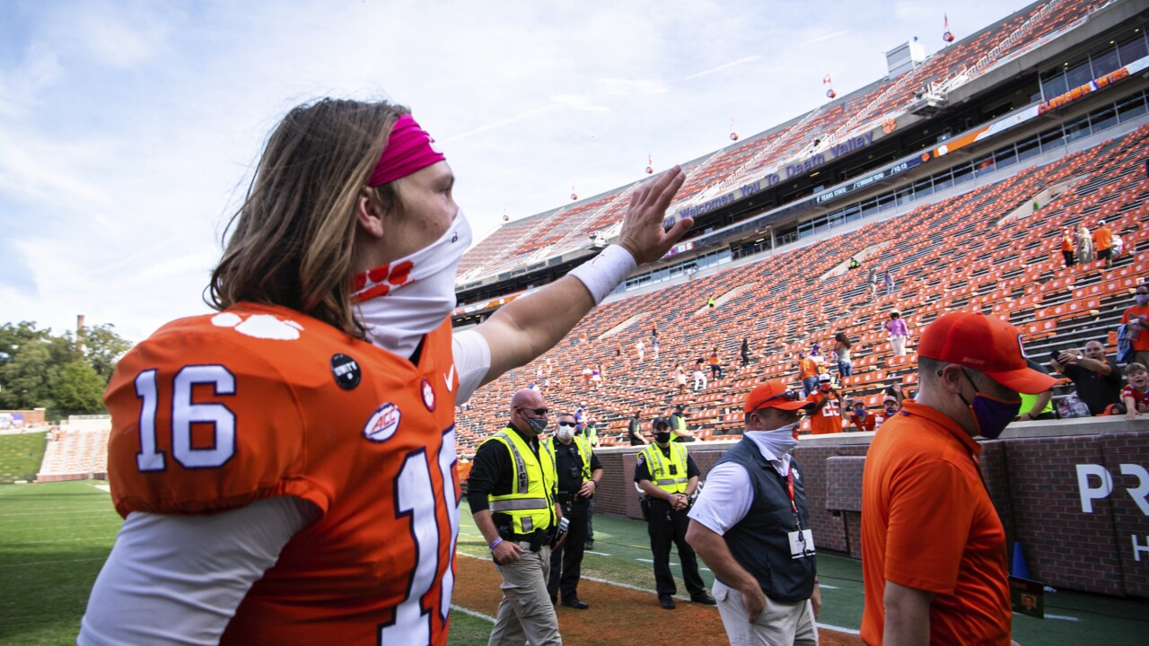 Heisman Trophy candidate Trevor Lawrence to miss game due to COVID-19