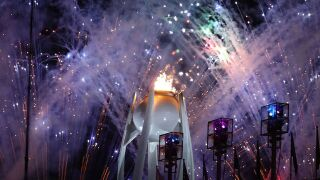Winter Olympics: Pyeongchang games end with spectacular closing ceremony — and calls for peace