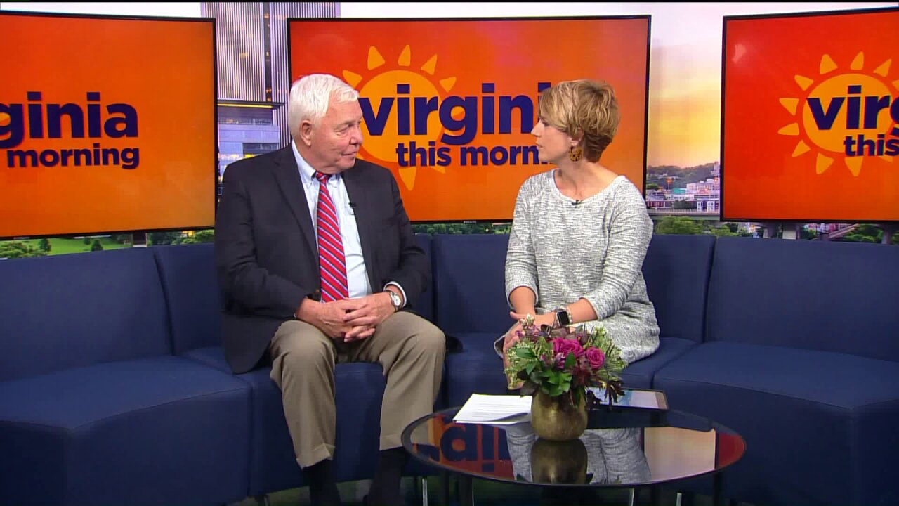 Graham Woodlief and Tim Brock present the Virginia Thanksgiving Festival