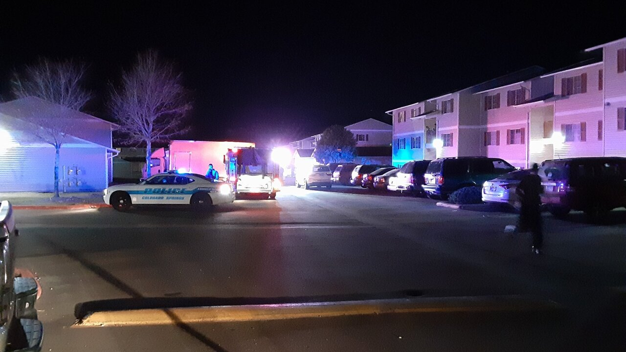 Shooting at southeast Colorado Springs apartment