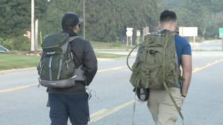 Holland man walking 300 miles to raise awareness about veteran suicide