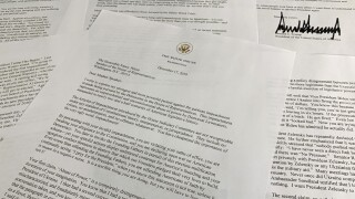 Trump sends scorching letter to Pelosi ahead of House impeachment vote
