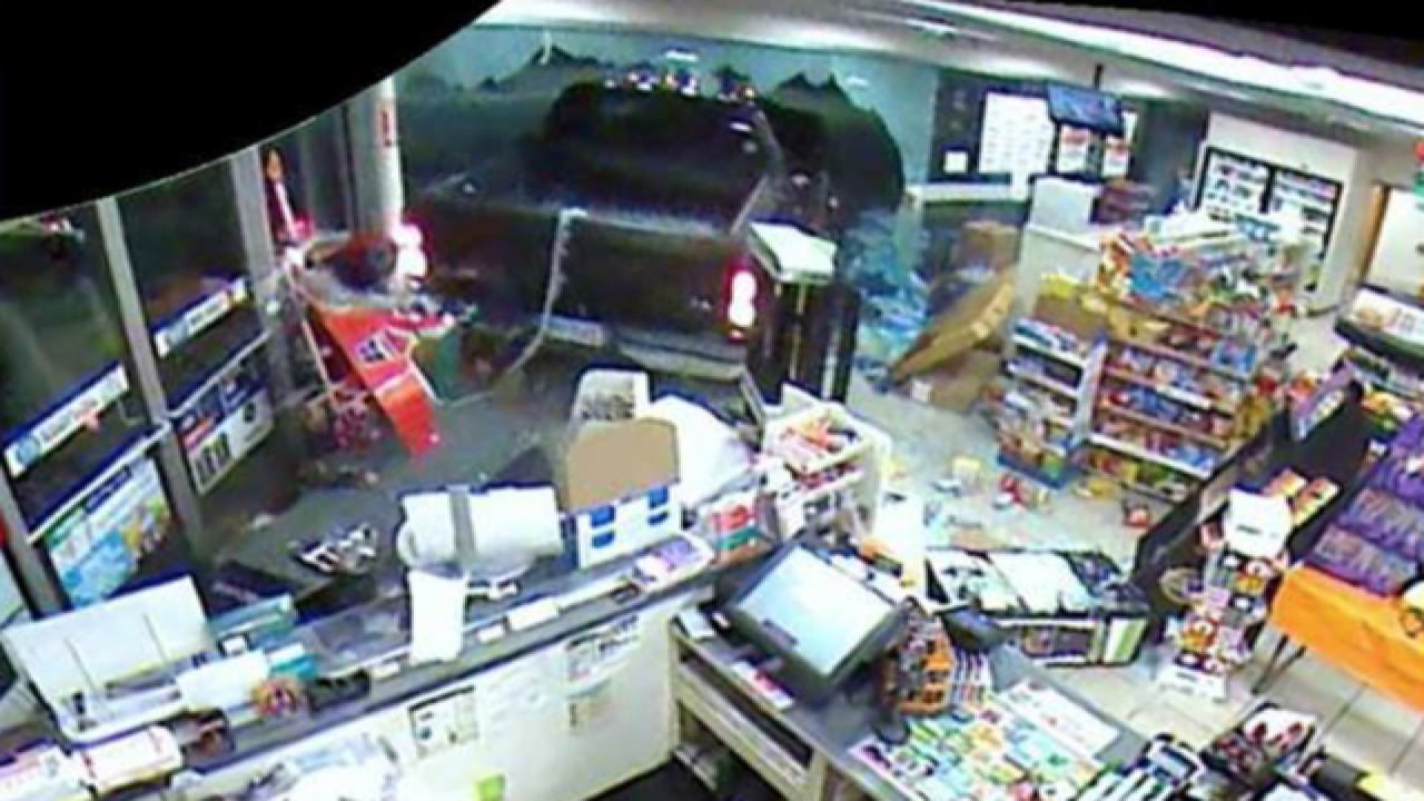Are smash & grab suspects tied to similar crimes
