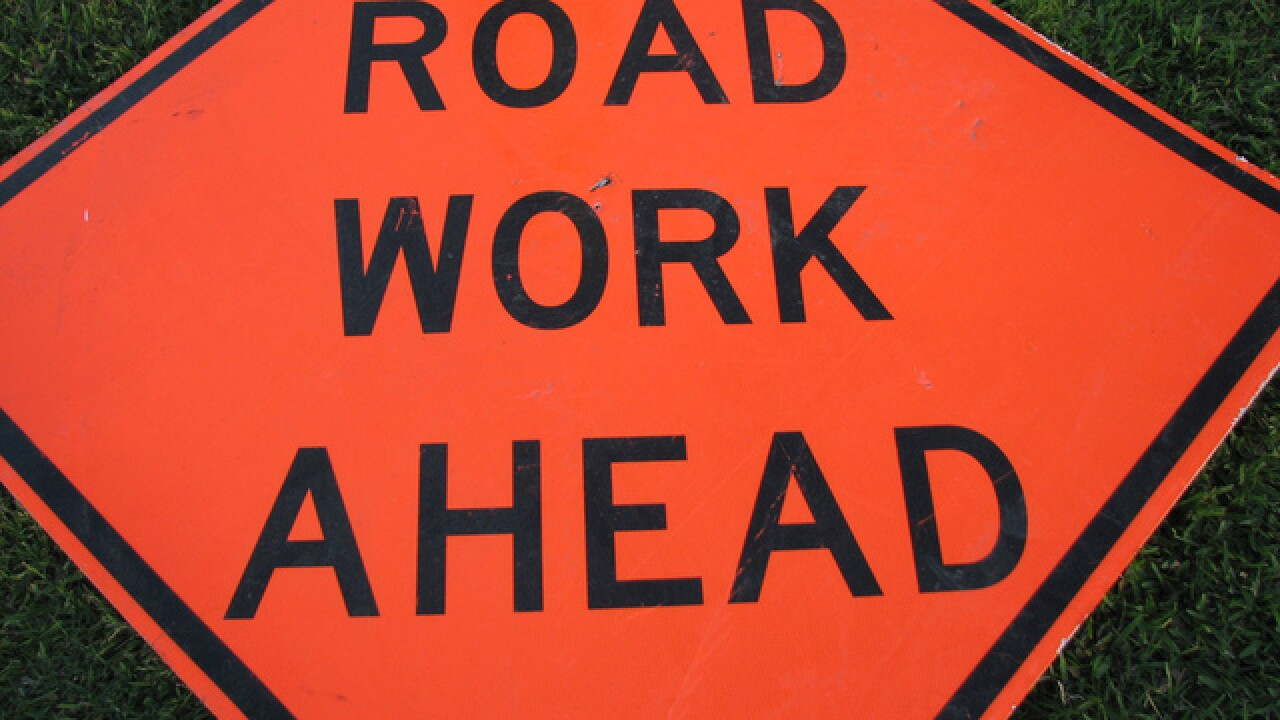Road improvements underway on 144th Street