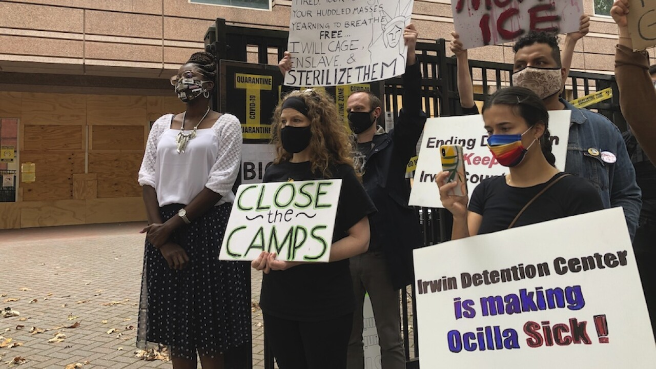 More migrant women say they did not OK surgeries while at Georgia ICE detention center, AP reports