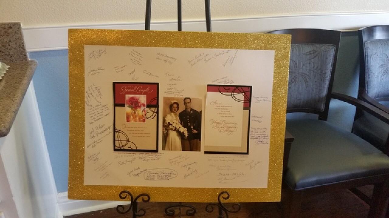 Las Vegas couple celebrates 75 years of marriage