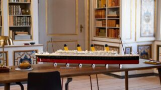 New Lego Titanic Is The Company's Largest-Ever Model Set