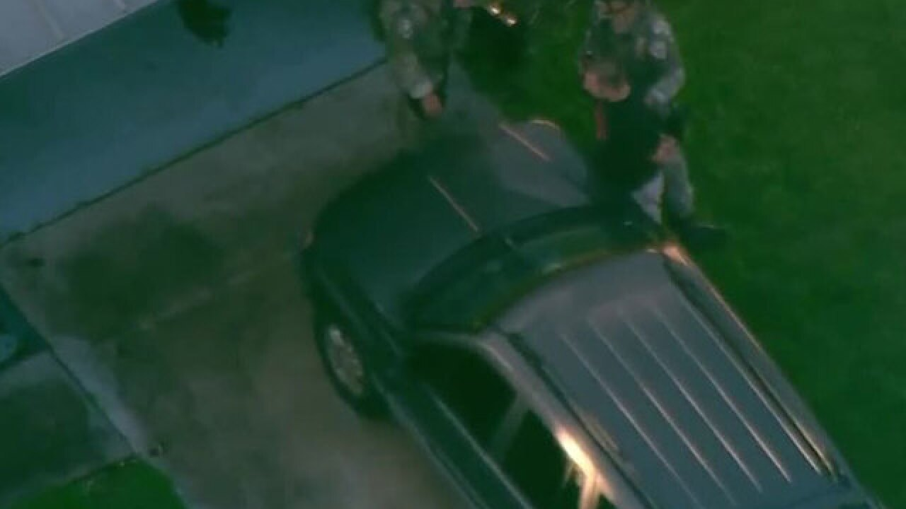 Man taken into custody by Palm Beach County Sheriff's Office in Greenacres