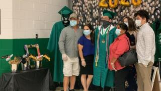 Banquete holds unusual indoor graduation ceremony