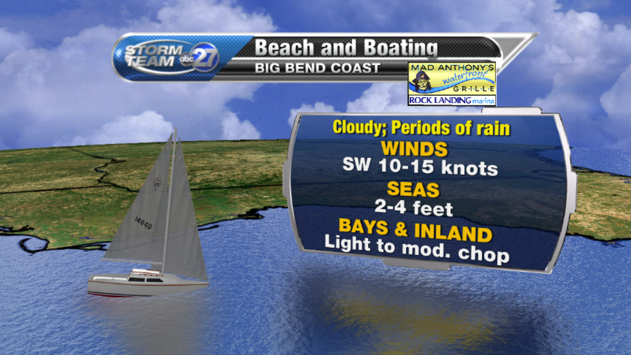Beach and Boating forecast (08/03/2017) A