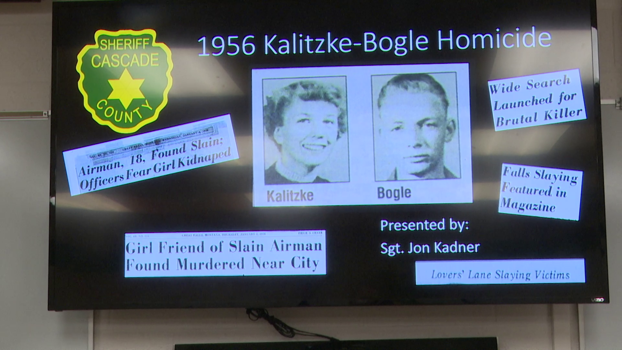 Cold Case: 1956 murder of two people in Great Falls finally solved