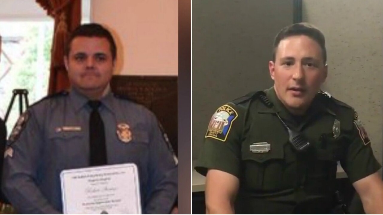 2 Central Virginia officers fired over alleged white supremacist groups ties