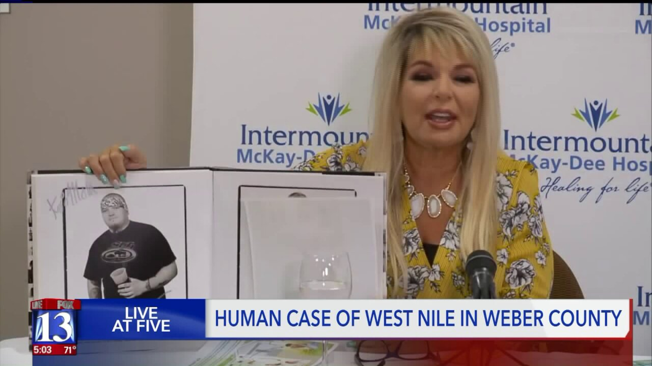 Mother of man with West Nile Virus says he's completelyimmobile