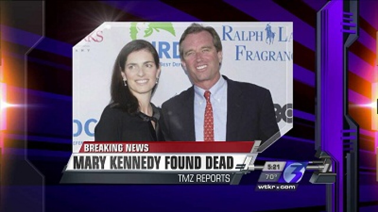 Report: Wife of Robert F. Kennedy, Jr. found dead