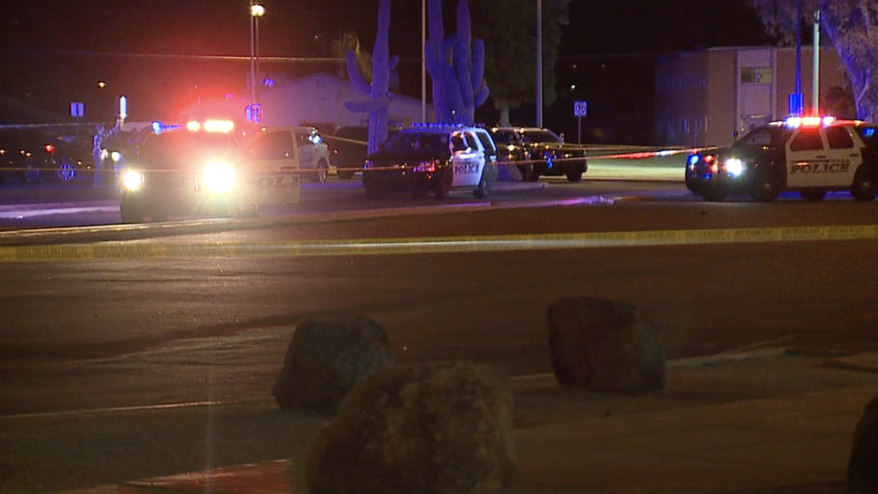 Man killed in drive-by shooting near Mesa skate park