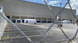 DNC preparation, Wisconsin Center.jpg