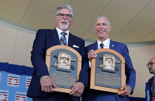 Photo gallery: Jack Morris, Alan Trammell inducted into Baseball HOF