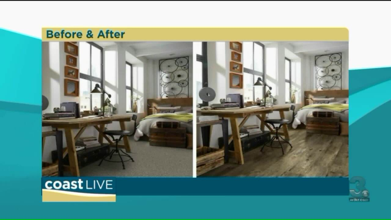 Flooring style tips and deals on CoastLive